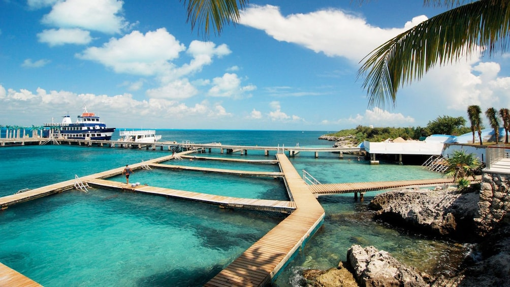 Show item 3 of 10. Stunning day view of the Isla Mujeres