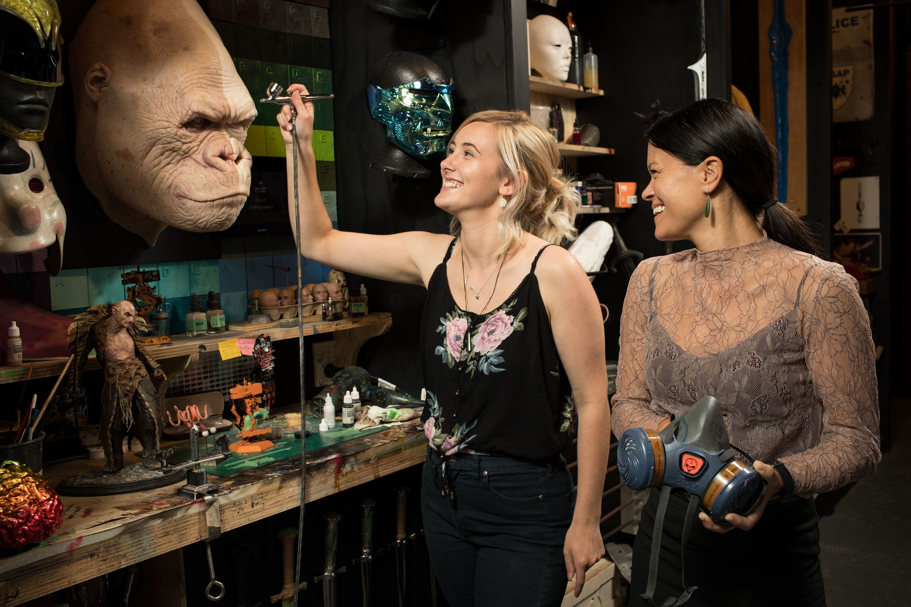 There & Back Again: Weta Cave Workshop Tour