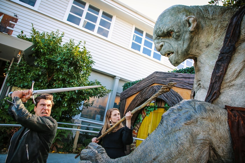Show item 9 of 9. The Full Experience: Weta Workshop There and Back Again