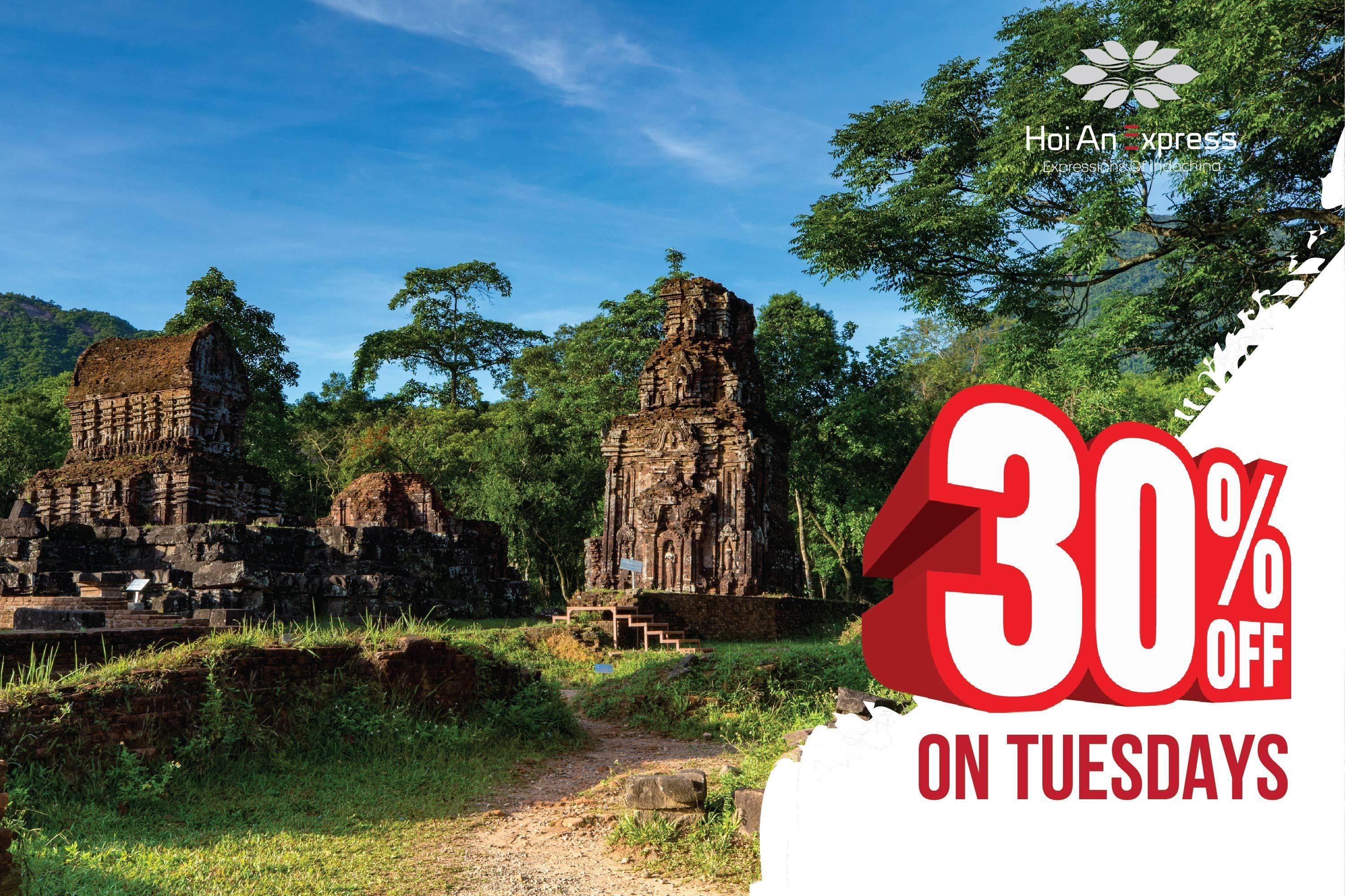 Half-Day Guided My Son Sanctuary Tour from Hoi An