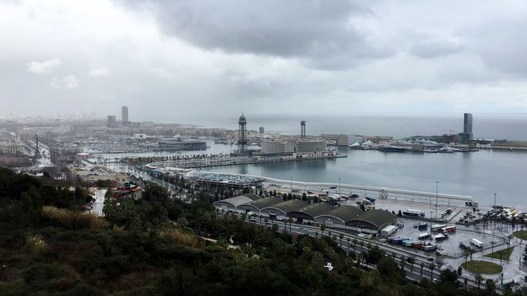 View overlooking part of Barcelona