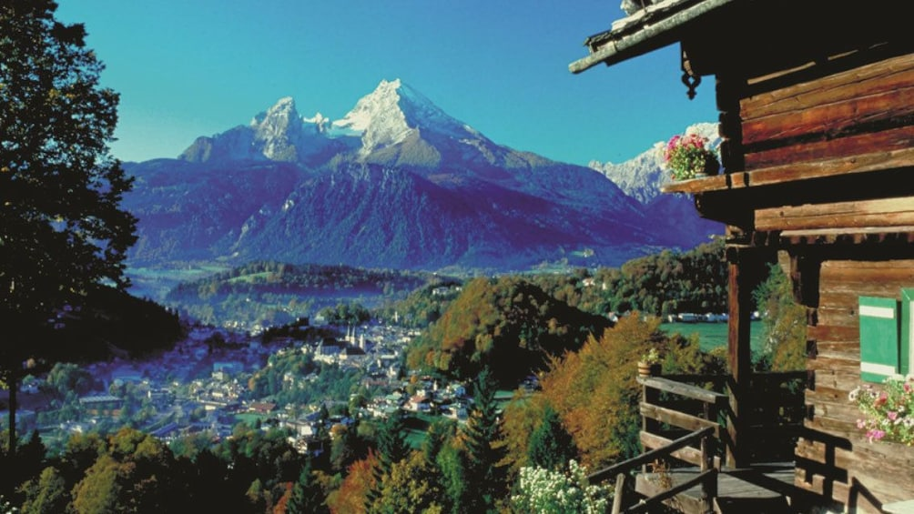 Show item 1 of 5. Scenic view of the Bavarian Alps in Salzburg