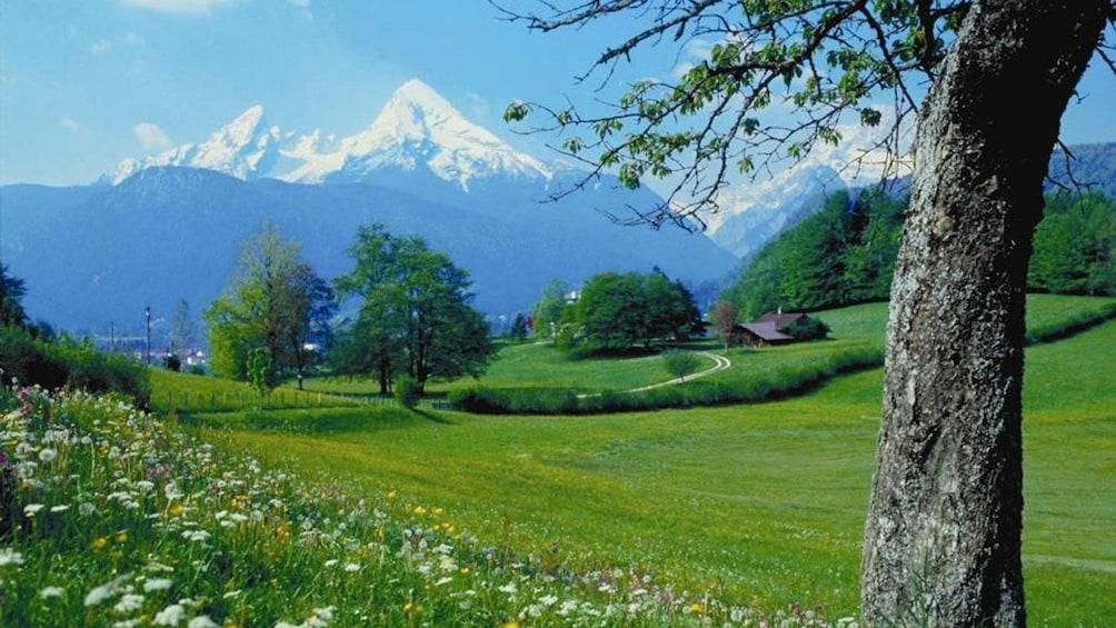 Show item 4 of 5. Stunning mountain view of Berchtesgaden