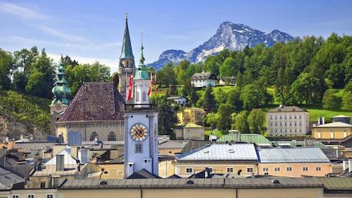 Scenic view of Salzburg