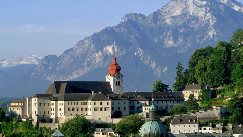 Show item 5 of 5. City and mountains in Salzburg