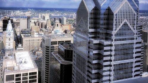 Buildings of downtown Philadelphia