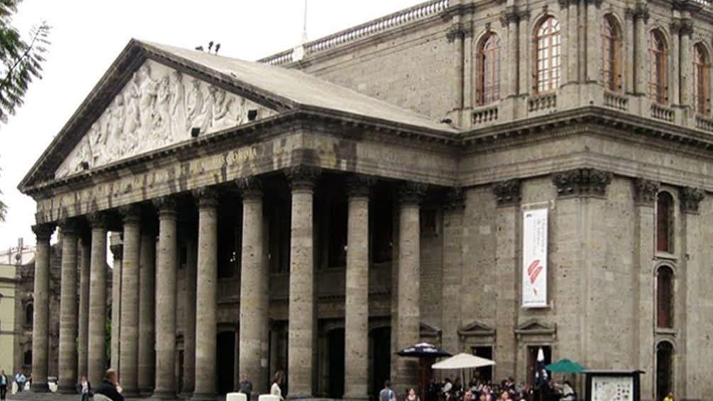 Teatro Degollado in Guadalajara.