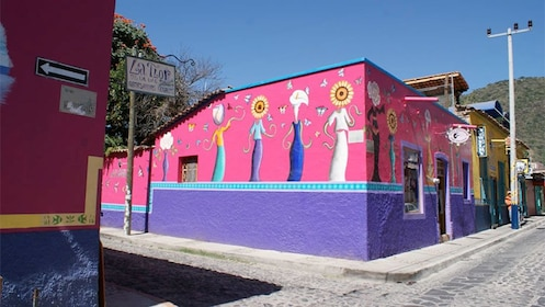 Building near Lake Chapala in Mexico