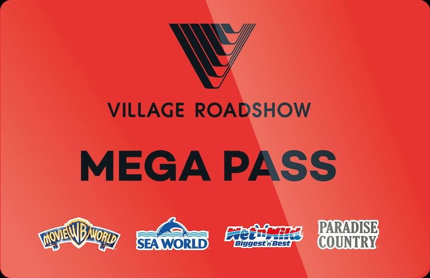 Show item 1 of 10. 14 Day Mega Pass: Movie World, Sea World, Wet'n'Wild + More