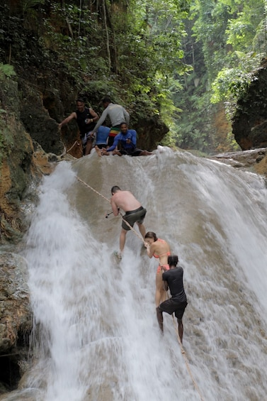 Show item 2 of 10. Blue Hole & Island Gully Waterfall Adventure with Lunch