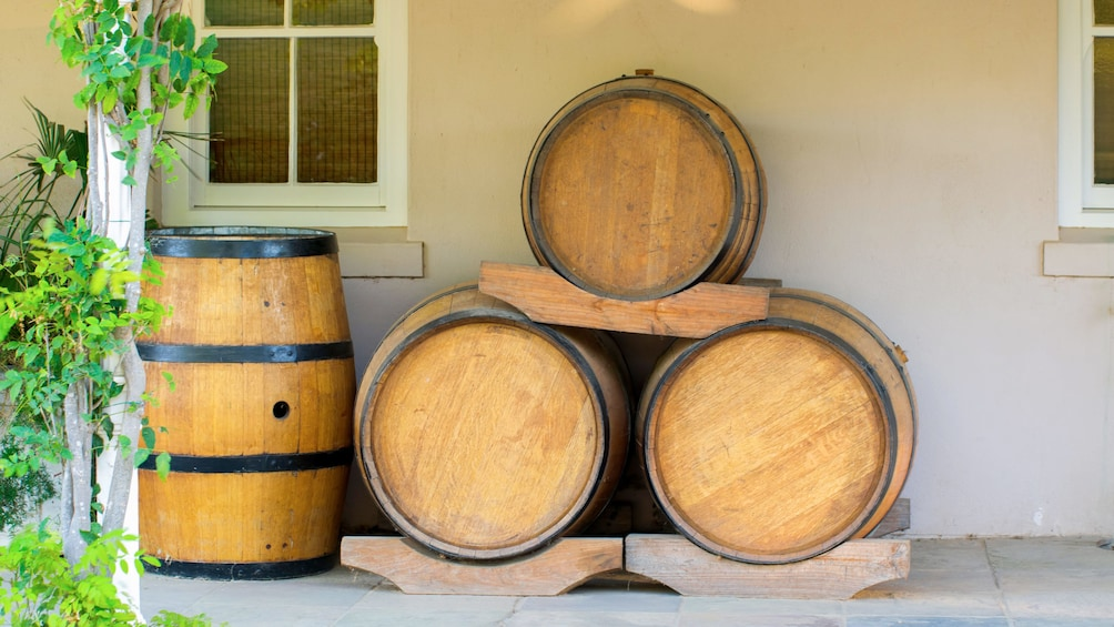 Show item 5 of 5. Wine barrels in Cape Town, South Africa