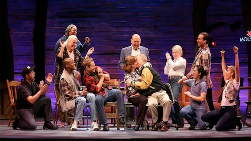 Come from away cast in New York