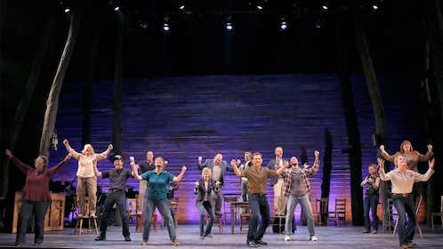 Come from away musical on Broadway in New York