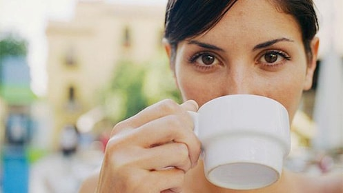 woman Coffee Tasting in Bogota