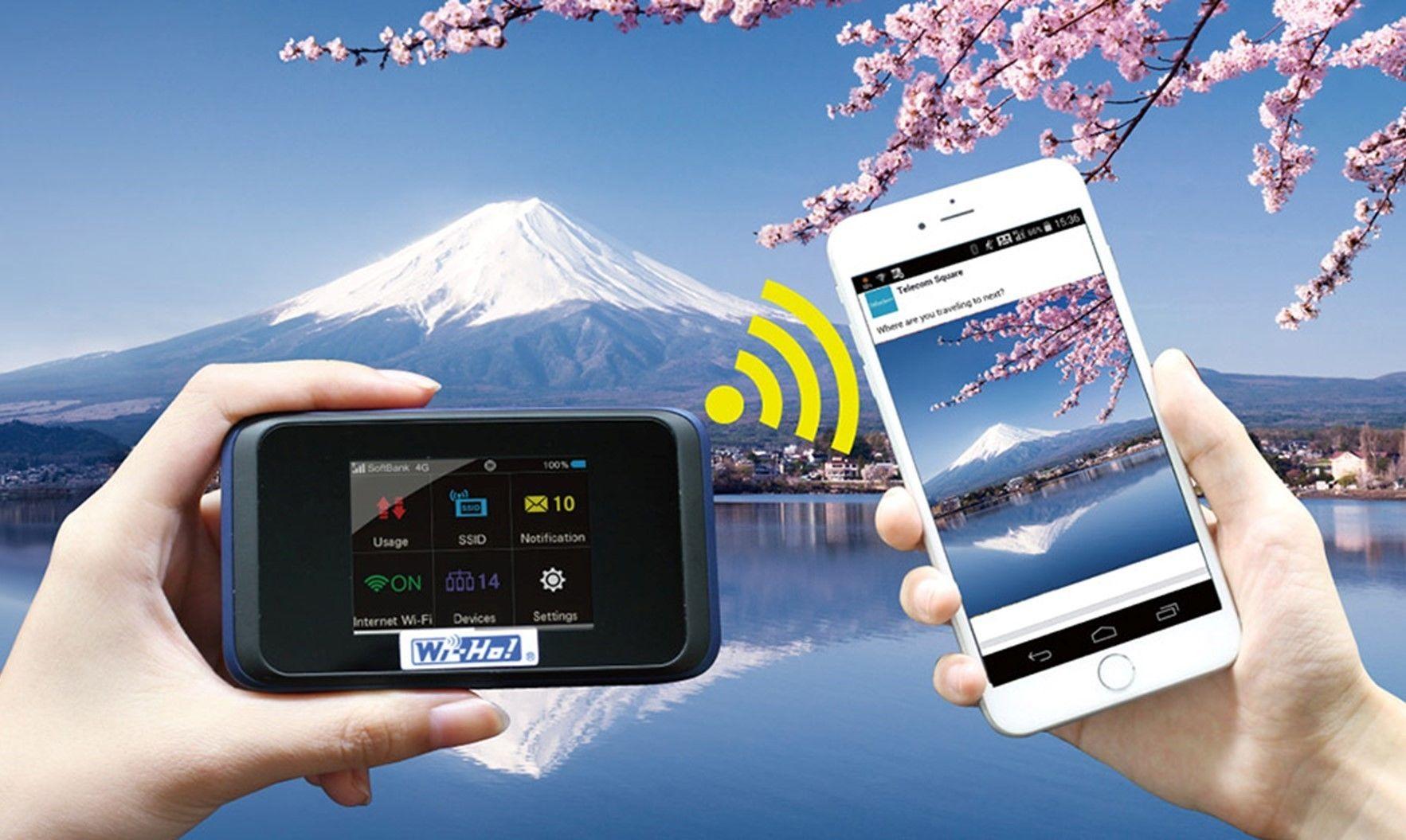 Wi-Fi Router Rental from Narita International Airport
