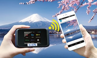 Wi-Fi Router Rental from Haneda Airport