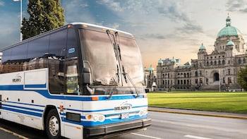 Autobús compartido: centro de Victoria - centro de Vancouver