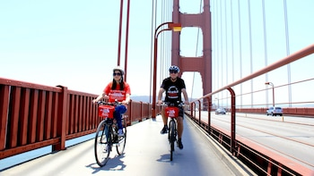 Golden Gate Bridge Guided Bike Tour