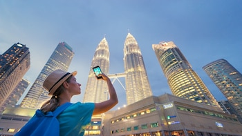 Half-Day City Photography Tour with Admission to Twin Tower & KL Tower