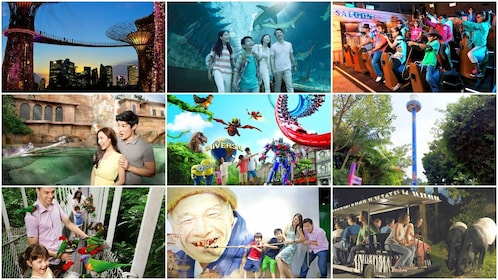 Collage of images from Universal