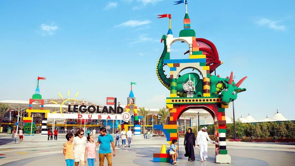 Show item 2 of 9. Entrance to Legoland Dubai