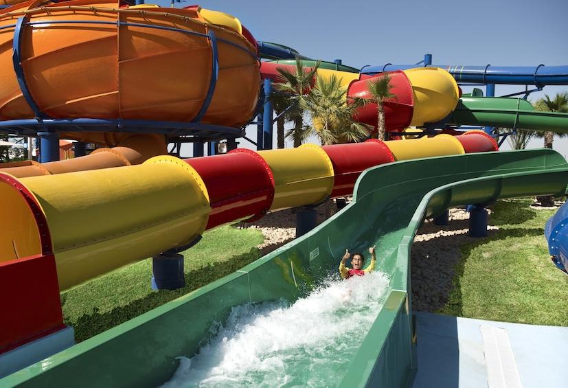 Apri foto 3 di 10. Dubai Parks 1 Day/2 Parks Tickets with Private Transfers