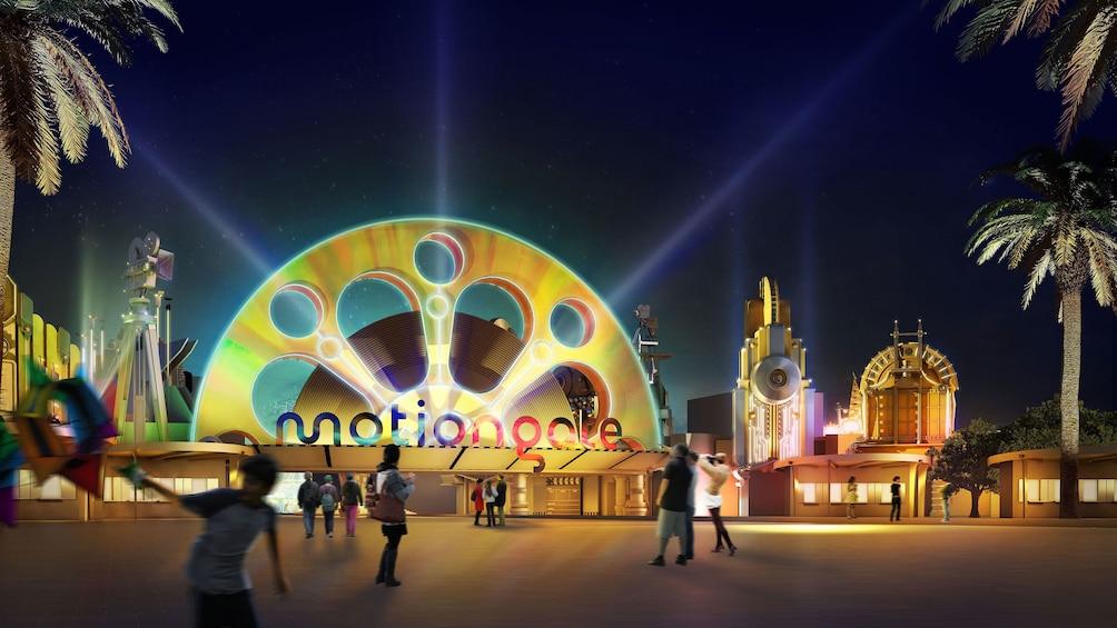 Apri foto 5 di 10. Entrance of Motiongate in Dubai