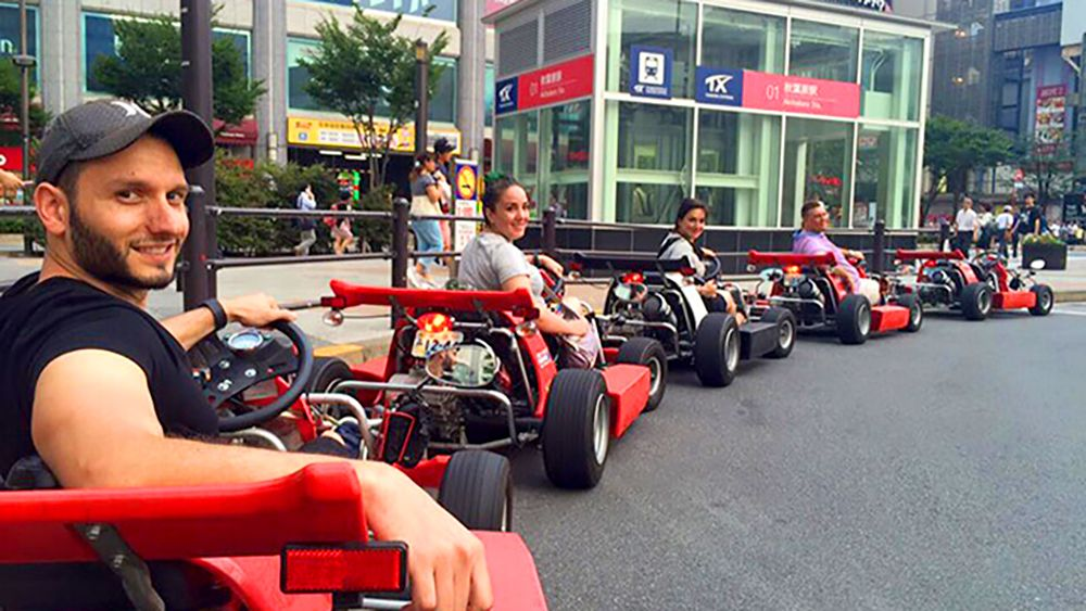 Go Carting in Tokyo