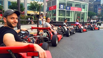 Go-Kart Experience on Tokyo Roads