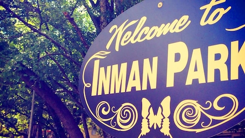 Show item 3 of 5. Inman Park sign