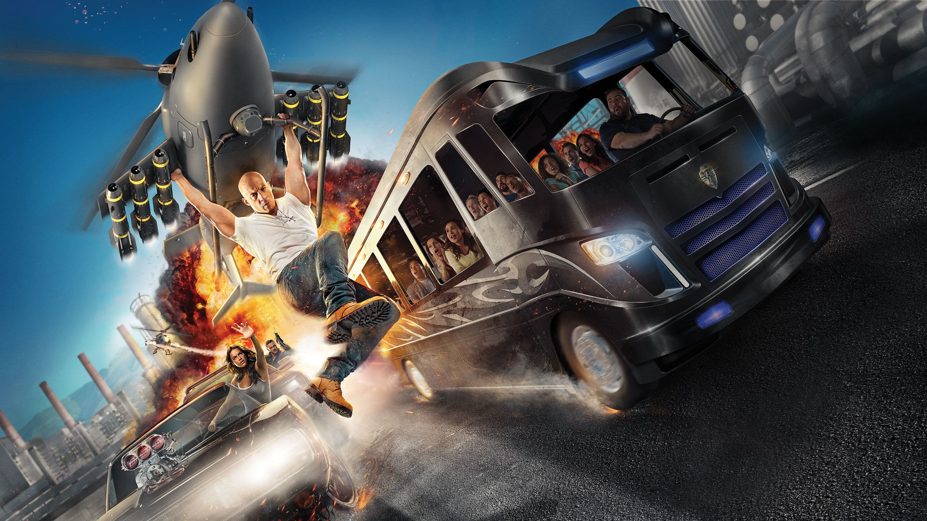 Fast and the Furious attraction at Universal Studios Orlando