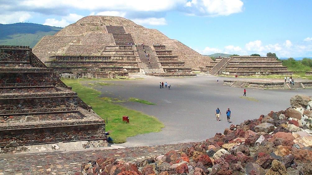 Pyramids in Mexico city