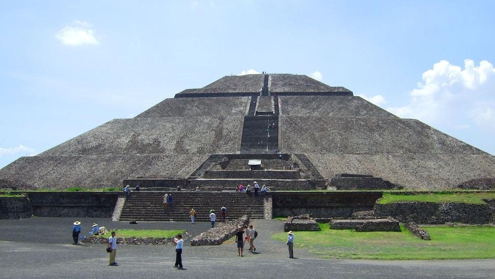 Pyramid in Mexico City