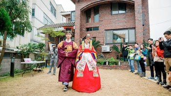 Private Traditional Korean Wedding Ceremony