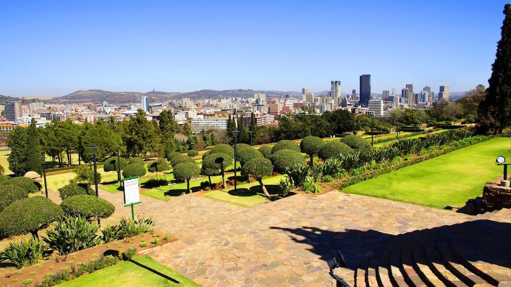 View from Union Buildings in Pretoria