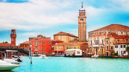 View of the architecture in Venice