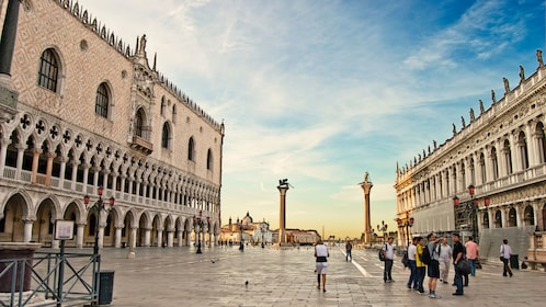 View of San Marco square in Venice