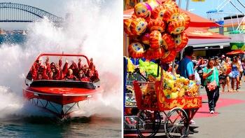 Jet Boat Ride on Sydney Harbour & Luna Park Admission