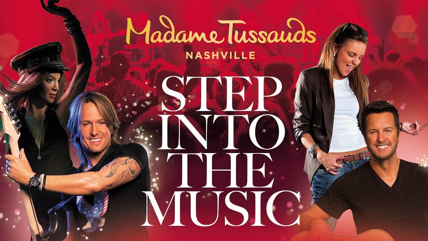 Madame Tussauds Nashville: Celebrity Wax Attraction Tickets