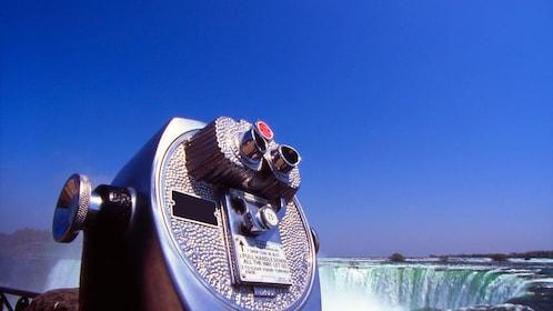Binoculars at the top of Niagara Falls