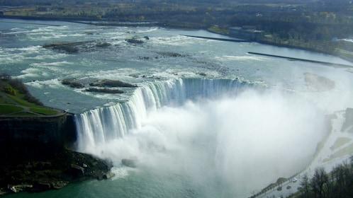 Ariel view of Niagara Falls
