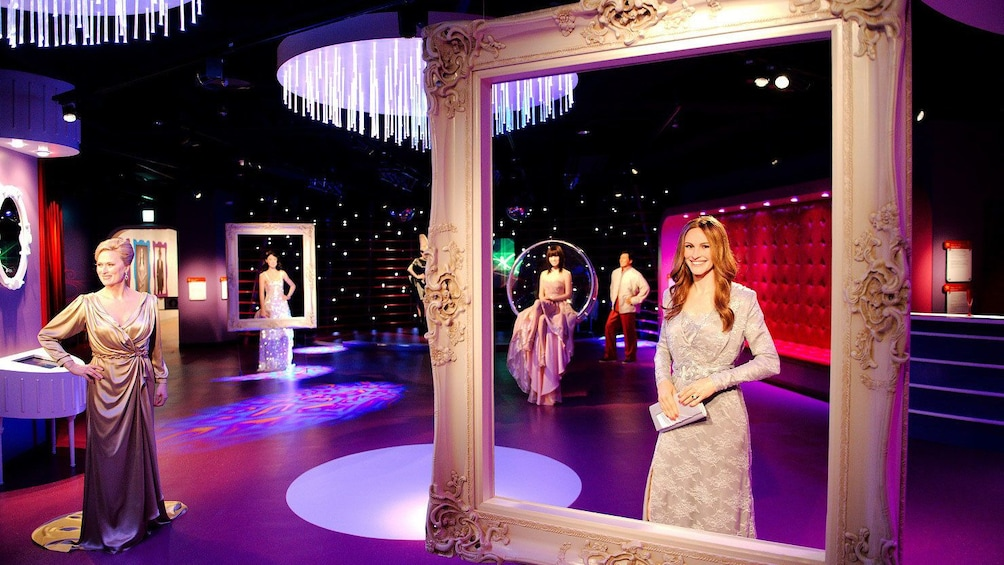 Show item 2 of 4. Exhibit hall of figures in Madame Tussauds Tokyo