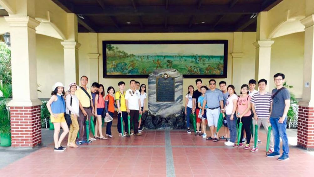 Show item 5 of 5. Tour visit to the Lapu-Lapu Shrine in the Philippines