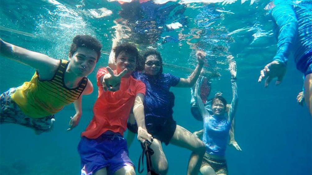 Show item 5 of 5. Snorkeling activity in Cebu