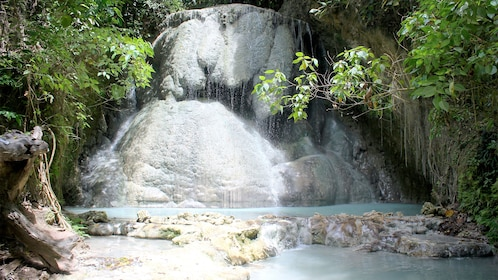 Beautiful waterfall in Cebu, Philippines