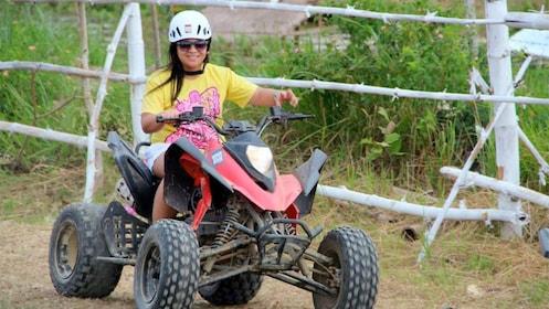ATV activity on the Extreme Danasan Adventure in Cebu, Philippines