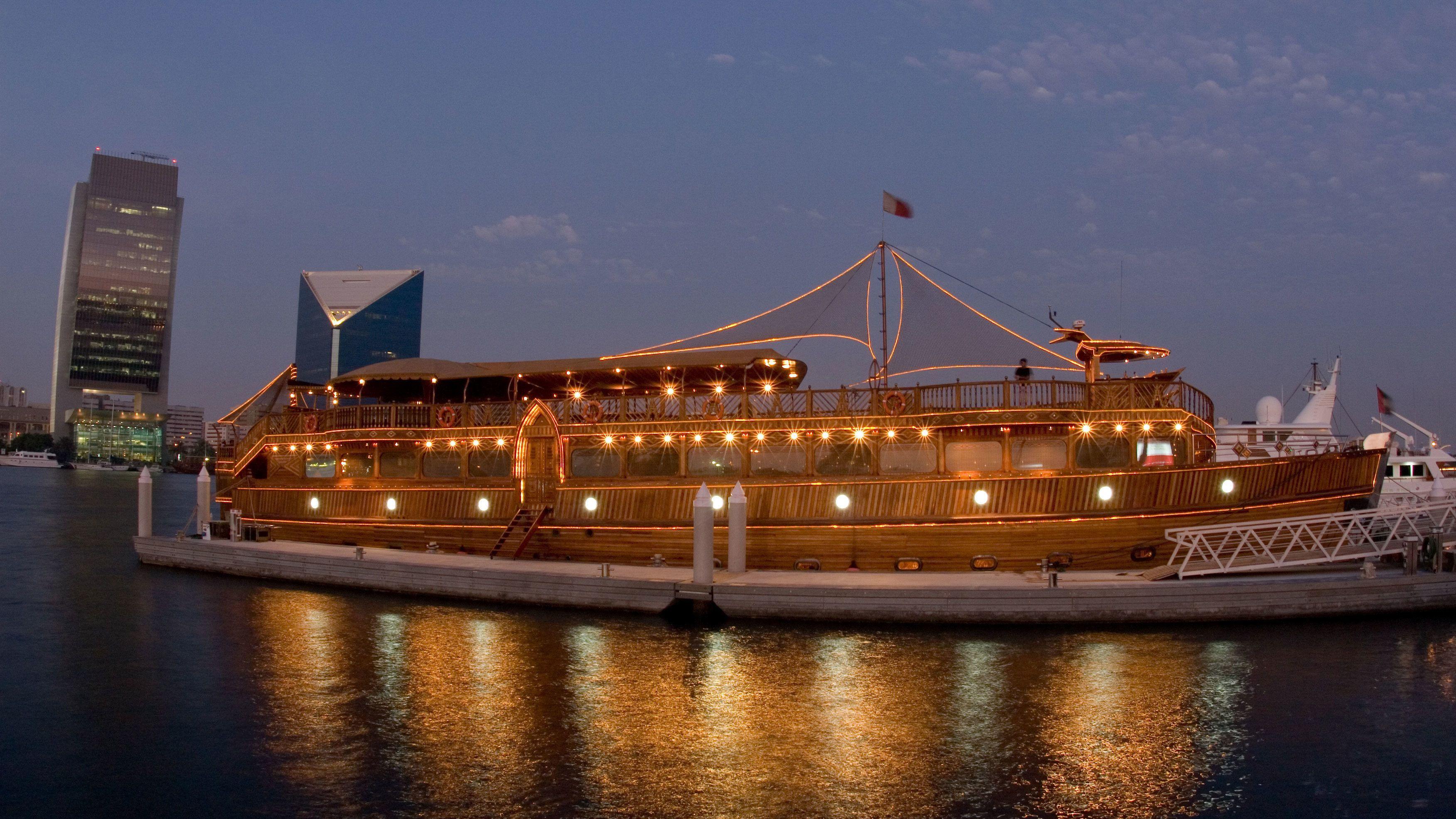 Dubai Creek Premium Dinner Cruise