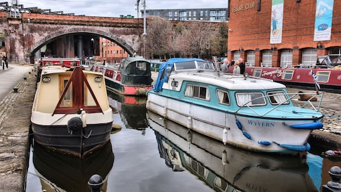 Boats in an English canal