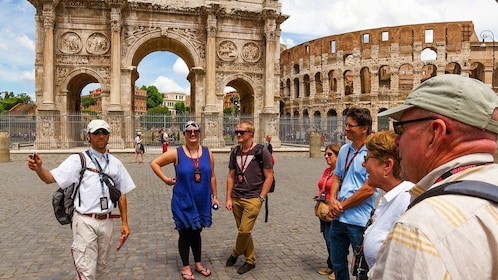 Tour of the Colosseum