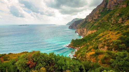 Beautiful view of the Amalfi Coast